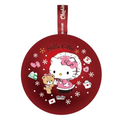 巧趣多三麗鷗聖誕球巧克力糖30g-kitty