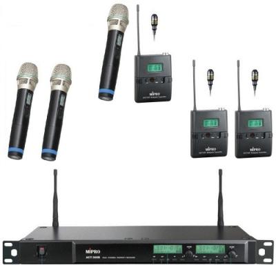 MIPRO ACT-300最新雙頻無線數位麥克風