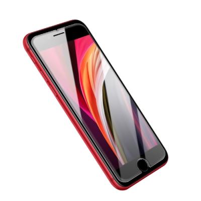 iPhone SE 2020 SE2 非滿版 半屏透明 高清透明 手機 保護貼 (iPhoneSE2020保護貼 iPhoneSE2020鋼化膜 )