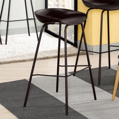 Boden-范希工業風吧台椅/吧檯椅/高腳椅(高)(兩色可選)-51x47x84cm