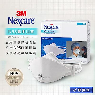 3M Nexcare N95醫用口罩-20片入(盒裝)