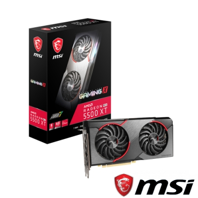 MSI微星 Radeon RX 5500 XT GAMING X 8G 顯示卡