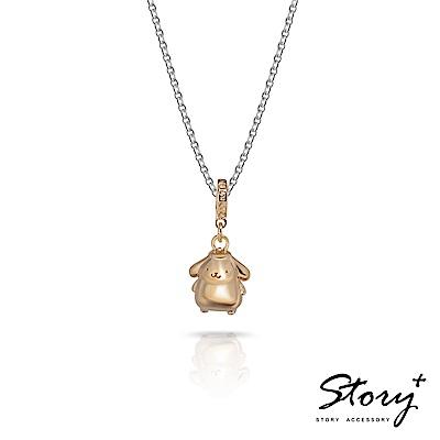 STORY故事銀飾-Purin串珠系列-布丁狗垂墜串珠 純銀項鍊款