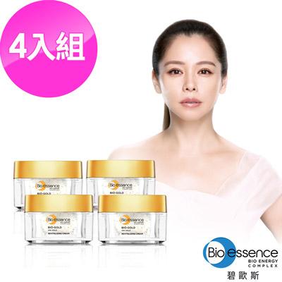 Bio-essence 碧歐斯 BIO金萃黃金賦活霜40G(4入組)
