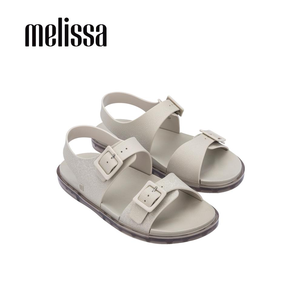 Melissa WIDE SANDAL經典雙帶涼鞋-米杏