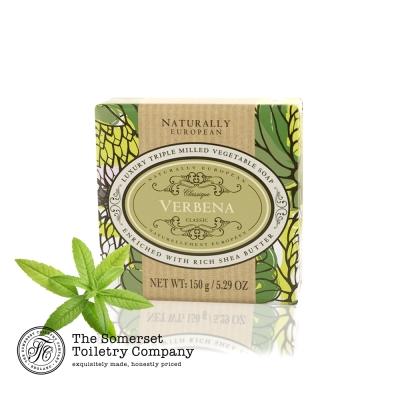 Somerset 賽玫特 英國自然歐洲乳油木香皂150g-馬鞭草