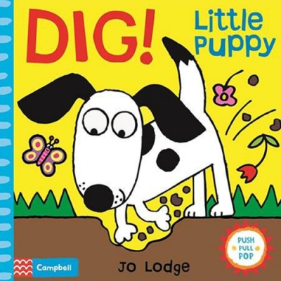 Dig!Little Puppy 小狗推拉書