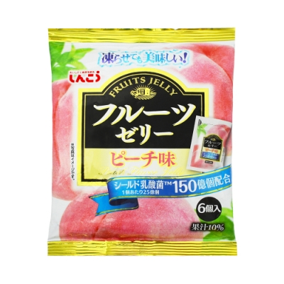 SHINKO  乳酸菌果凍-蜜桃(120g)