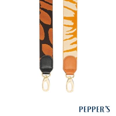 PEPPER S Hope 牛皮編織長背帶 - 2色