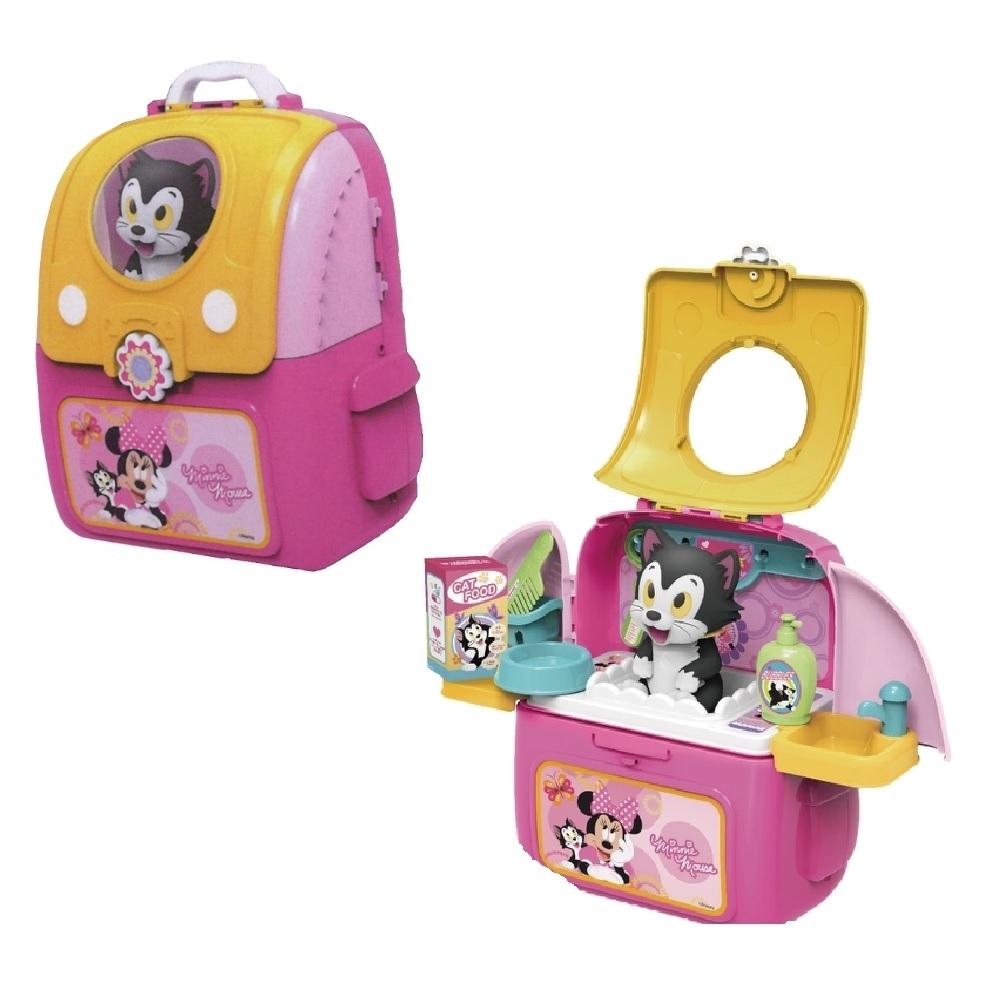 迪士尼系列 - 米妮寵物背包 家家酒玩具 寵物遊戲