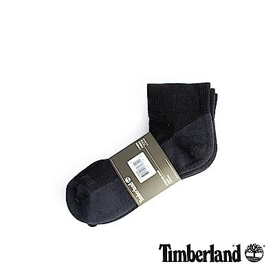 Timberland 男款黑色透氣吸汗舒適低筒襪