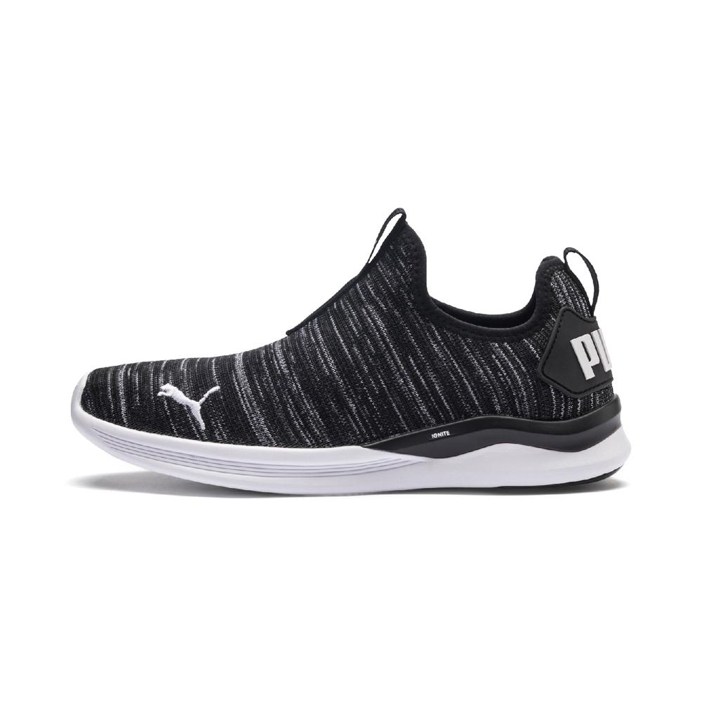 PUMA-IGNITE Flash Summer Slip 女性慢跑鞋-黑色