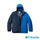 Columbia 哥倫比亞 男款 - Omni-Tech防水鋁點保暖650羽絨兩件式外套-藍色 UWE11570BL product thumbnail 1