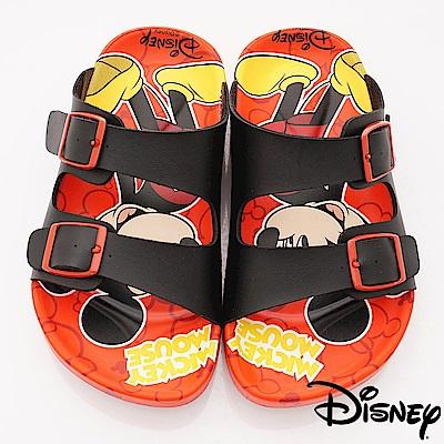迪士尼童鞋 米奇涼鞋款 ON17237紅(中小童段)C
