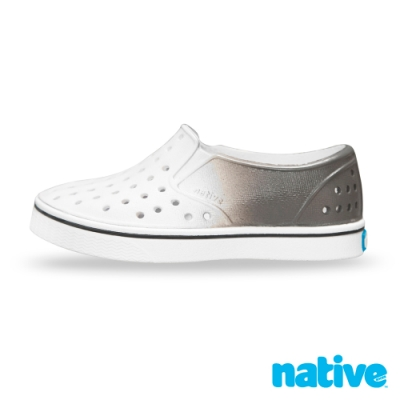 native 大童鞋 MILES 小邁斯鞋-太空漸變灰