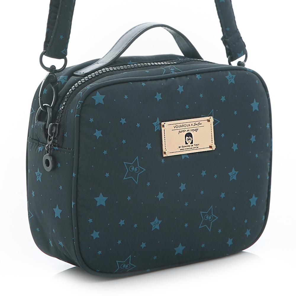 VOVAROVA-厚片吐司側背包-滿天星莎-環遊世界系列