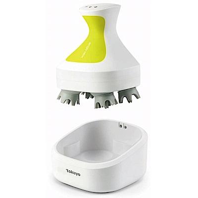 (福利品)tokuyo 多功能洗頭洗臉SPA按摩器TH-300