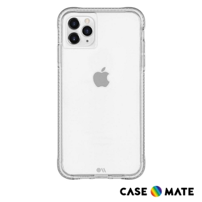 美國 Case-Mate iPhone 11 Pro Max Tough+ 環保抗菌防摔加強版手機保護殼 - 透明