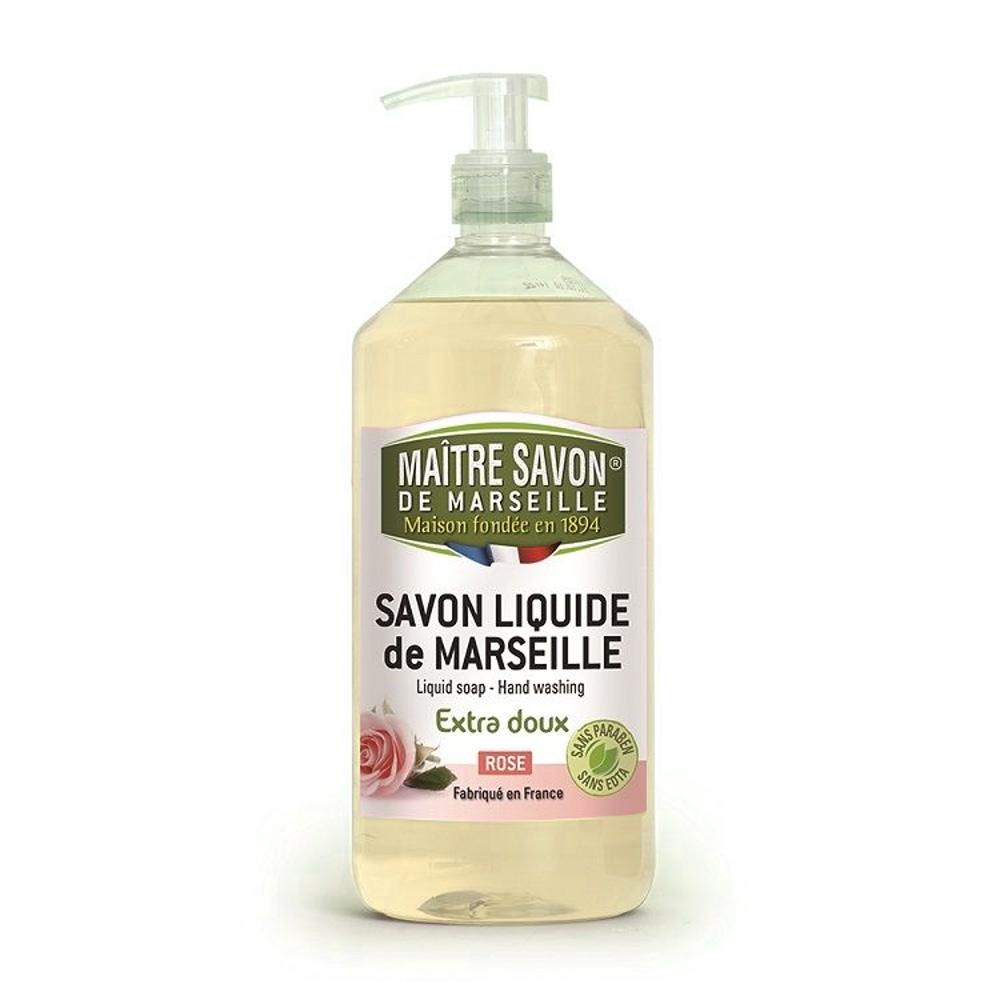 法國玫翠思 馬賽液體皂1000ML 玫瑰