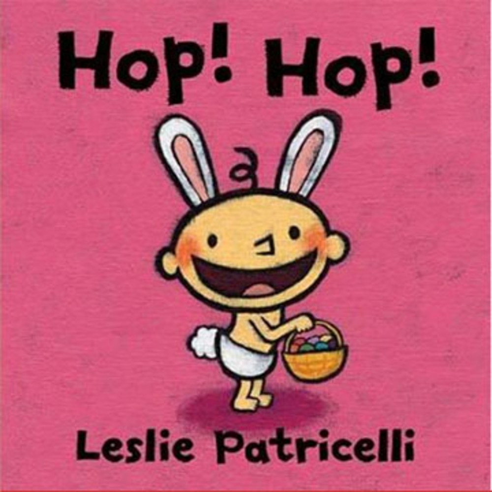 Hop! Hop! 蹦蹦跳跳!硬頁書(美國版)