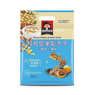 桂格 堅果穀多多系列-白穀杏仁風味(10入/袋)