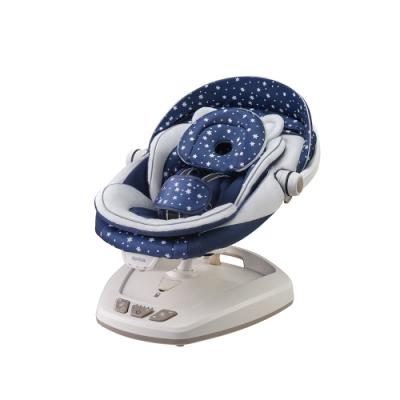【Aprica】 卡提籃式電動音樂搖床椅 Smart Swing Plus (湛藍星空)