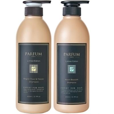 Parfum 巴黎帕芬 香氛精油洗髮精600mlX2