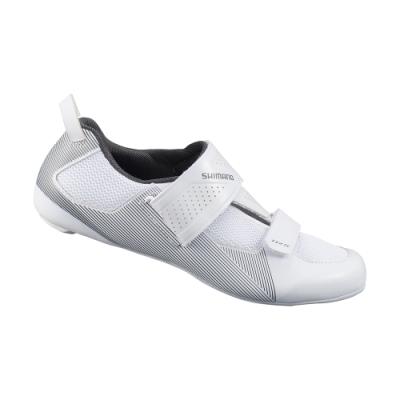 【SHIMANO】TR501 男性三鐵性能型車鞋 白色
