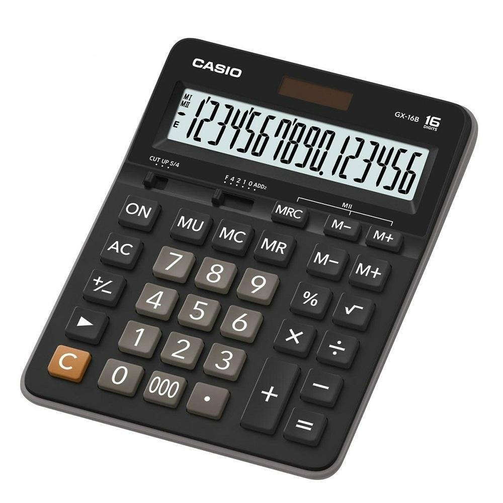 CASIO卡西歐-16位數商用計算機(GX-16B)