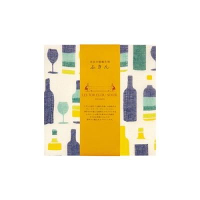 LES TOILES DU SOLEIL 法國蘇蕾-紗布毛巾 M-黃檸檬