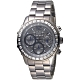 GUESS 晶鑽放閃三眼碼錶計時手錶-全IP黑-GWW0016L3-40mm product thumbnail 1