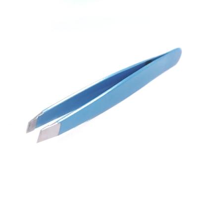 CEV不銹鋼斜口專業眉毛夾 (一支)