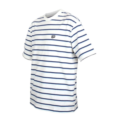 PUMA 男流行系列細條紋短袖T恤-慢跑 路跑 白黑藍綠