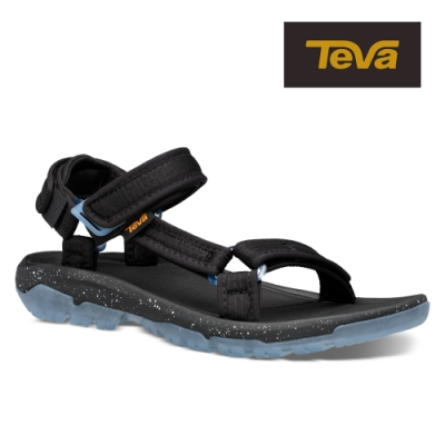 【TEVA】原廠貨 男 Hurricane XLT2 Frost 水晶底機能運動涼鞋/雨鞋/水鞋(黑色-TV1106785BLK)