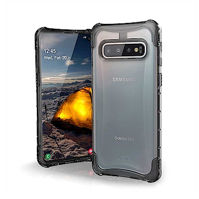 UAG Galaxy S10 耐衝擊全透保護殼-透明