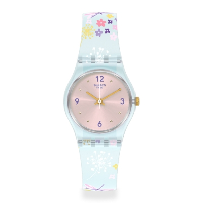 Swatch LovelyGarden系列手錶 ENCHANTED MEADOW 瘋花草-25mm