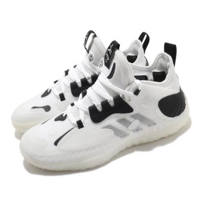 adidas 籃球鞋 Harden Vol 5 哈登 運動 男鞋 愛迪達 明星款 雙中底科技 避震 包覆 白 黑 Q46143