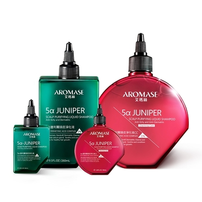 AROMASE 艾瑪絲 紅綠淨化組(1% c.c淨化液260+80ml+2%淨化液260ml+80ml)