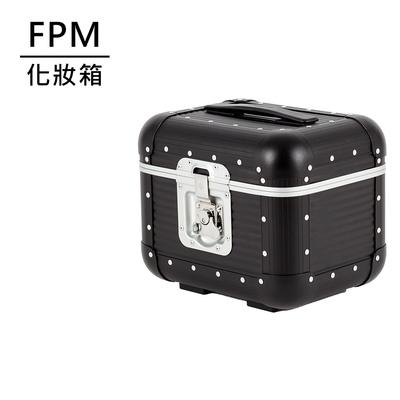 FPM MILANO BANK Caviar Black系列 化妝箱 松露黑 (平輸品)