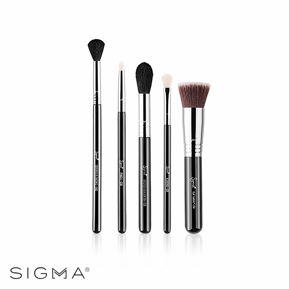 Sigma 最想要刷具五件組 Most-Wanted Brush Set