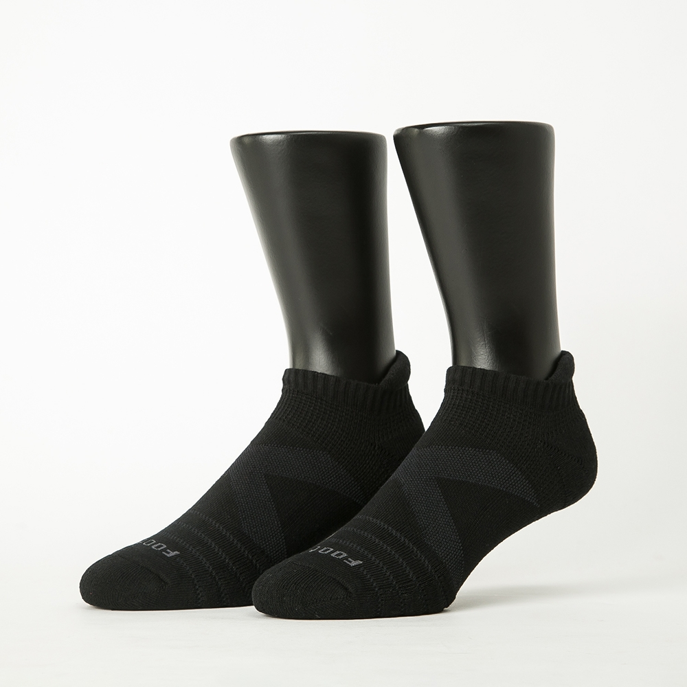 Footer除臭襪-X型減壓經典護足船短襪(男襪-T109)