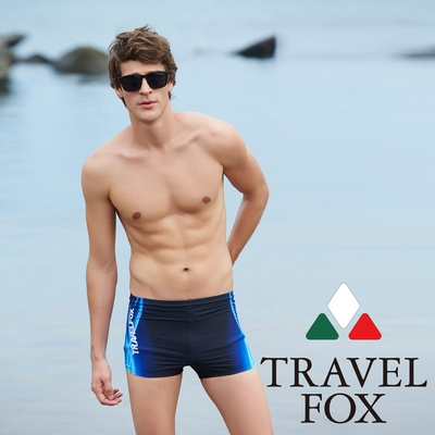 TRAVEL FOX夏之戀大男四角泳褲C17916