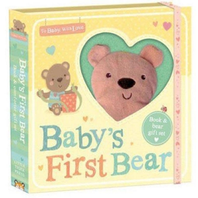 To Baby,With Love:Baby s First Bear 寶貝的小熊禮物書