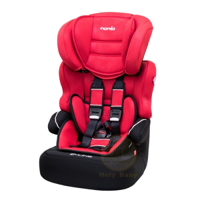 (買就送10%超贈點)【法國 Nania 納尼亞】蜂巢系列 2-12歲成長型汽車安全座椅 (3色可選)
