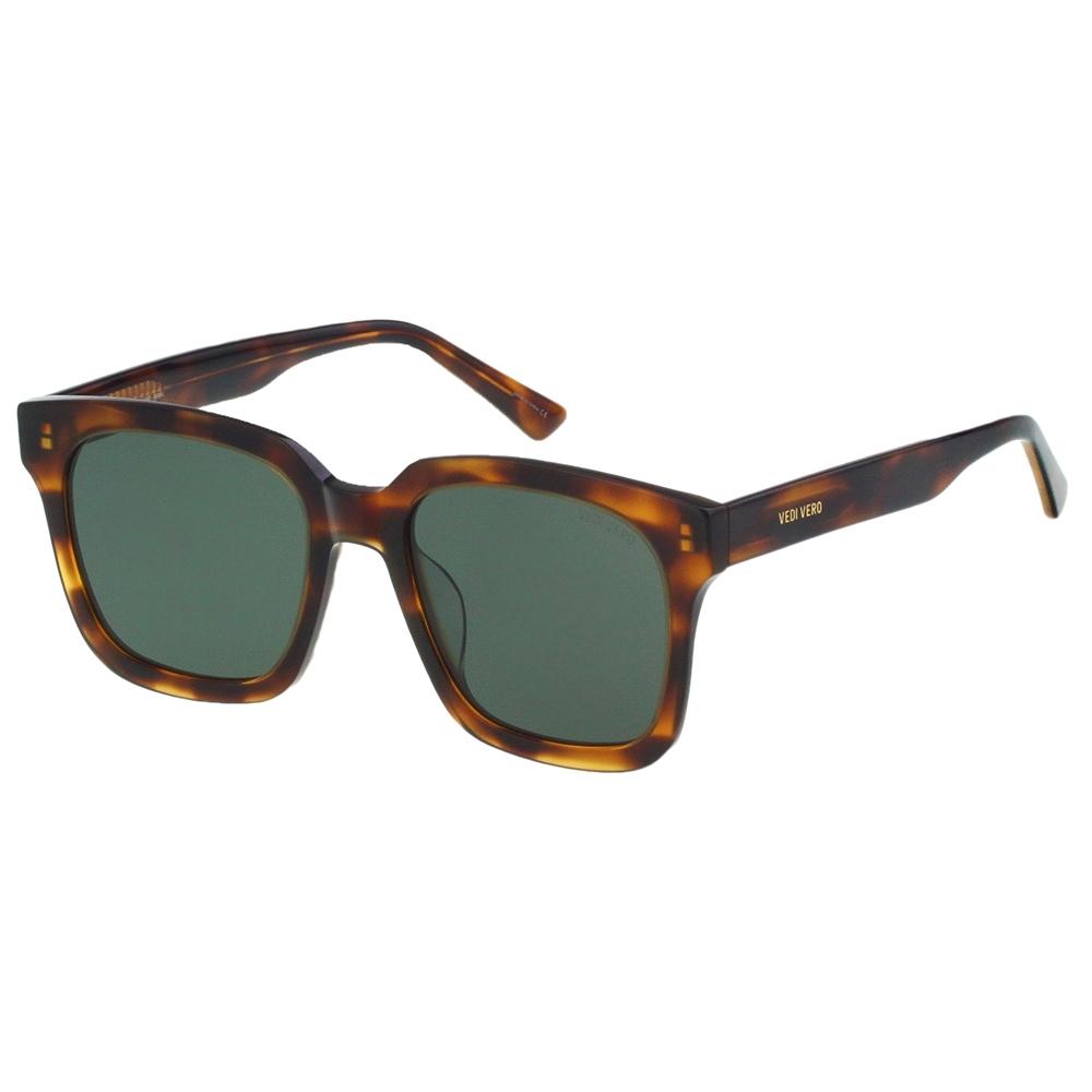 VEDI VERO 平面鏡片 太陽眼鏡 (琥珀色)