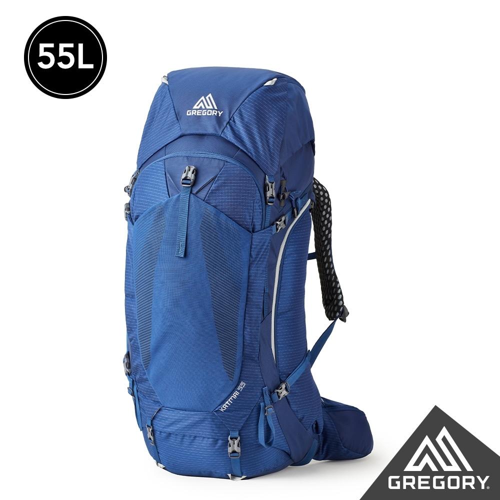 Gregory 55L KATMAI登山背包 帝國藍 M/L