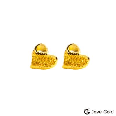 Jove Gold 漾金飾 愛美好黃金耳環