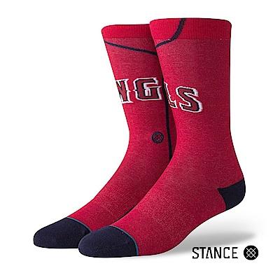 STANCE ANGELS ALT JERSEY男襪-休閒襪-MLB洛杉磯天使隊主場球衣款