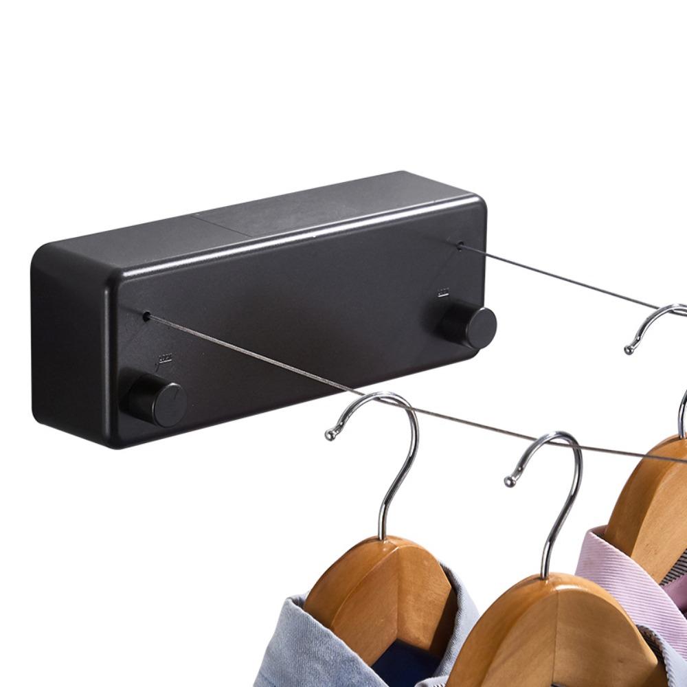 CK5202 雙繩 隱形伸縮曬衣繩 超長4.2米曬衣鋼絲繩