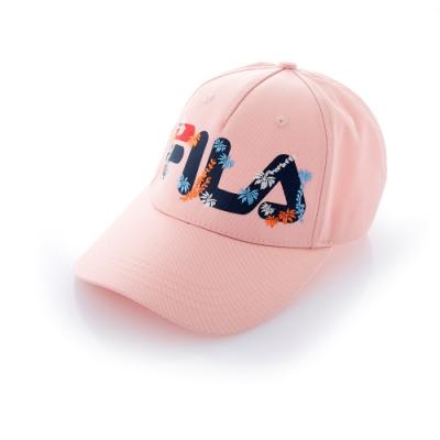 FILA 時尚LOGO帽-粉 HTT-5201-PK